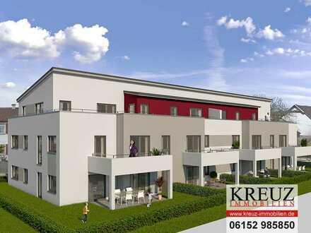 NEUBAU - moderne 4-Zimmerwohnung mit Terrasse und Garten