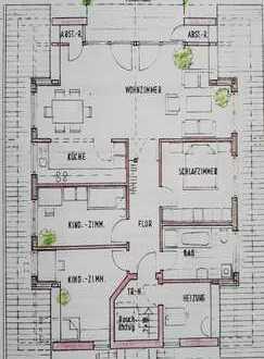 Helle 4-Zimmer-DG-Wohnung mit großem Balkon in Karlsdorf