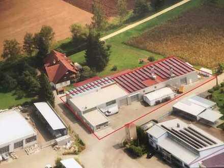 Attraktive Gewerbehalle mit vielseitigen Nutzungsmöglichkeiten im Gewerbegebiet von Dollnstein.