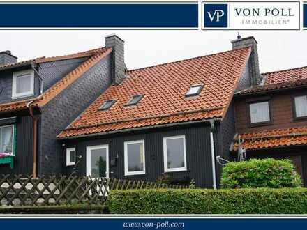 Renoviertes, kleines Reihenmittelhaus (Ferienhaus) mit 91 m² Wohnfläche auf dem Glockenberg