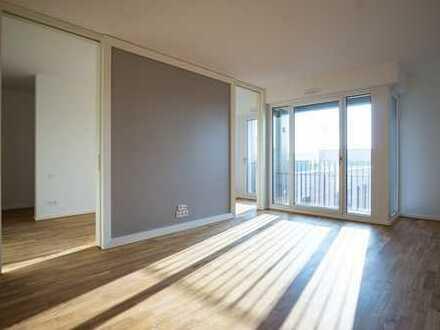 Sonnige 2-Zimmerwohnung I Bodenheizung | Einbauküche | Gäste-WC | Balkon