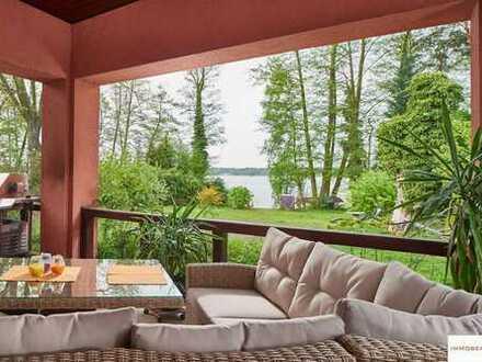 IMMOBERLIN: Wassergrundstück! Anwesen mit großartigem Einfamilienhaus