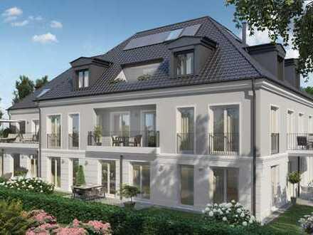 Wohnen am Nymphenburger Schlosspark: lichtdurchflutete 4-Zimmer-Eigentumswohnung mit zwei Balkonen