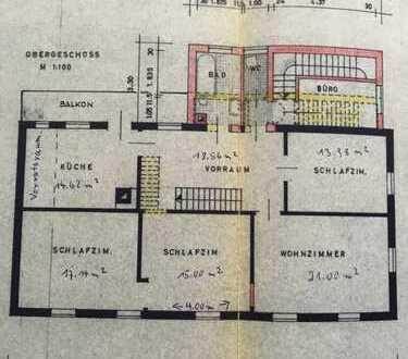 Sanierte 5-Zimmer-Wohnung mit Balkon und EBK in Berkheim