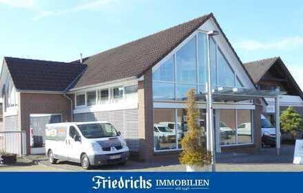 Industrie-/Gewerbegrundstück mit Wohnhaus in Bad Zwischenahn - vielseitige Nutzungsmöglichkeiten!