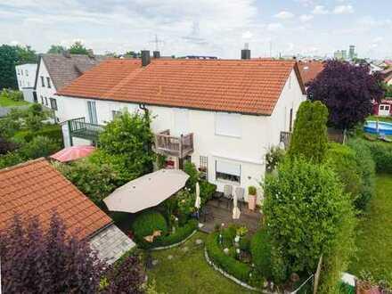 Gefragtes Eigenheim. Der Garten - ein Traum!