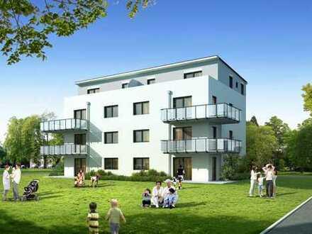Neubau - Erdgeschosswohnung mit Terrasse und eigenem Garten ca. 70m²