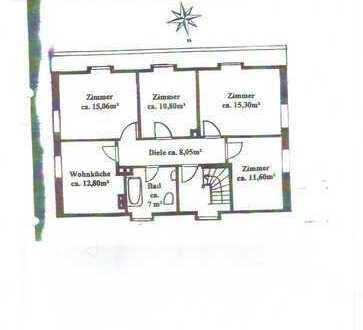 Helle, gemütliche 4-Zimmer Dachgeschoßwohnung in Trudering