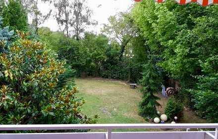 Ruhige und helle 4-Zimmer-Wohnung mit Balkon und Garten in Bönen zu vermieten