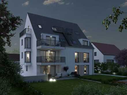 Moderne 4 Zimmer-Maisonette-Wohnung in kleiner Wohneinheit, bevorzugte Wohnlage in Ludwigsburg!