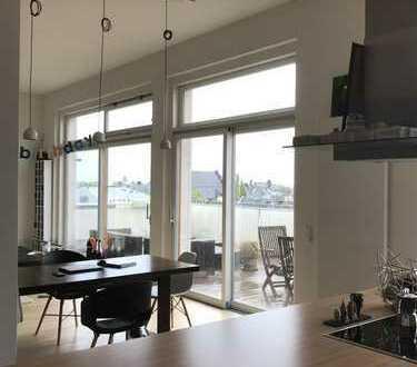 Großzügige Wohnung mit Blick über Frankfurt