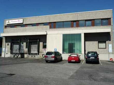 Gewerbehalle in Neuss citynah zu Düsseldorf und Neuss Produktion und Handel geeignet