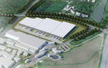 Projektentwicklung am Hanauer Kreuz! Provisionsfrei! 9.500 m² Hallenfläche!