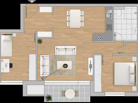Moderne 3-Zimmer-Neubau-Wohnung mit hochwertiger Ausstattung, Balkon, Aufzug + TG-Stellplatz