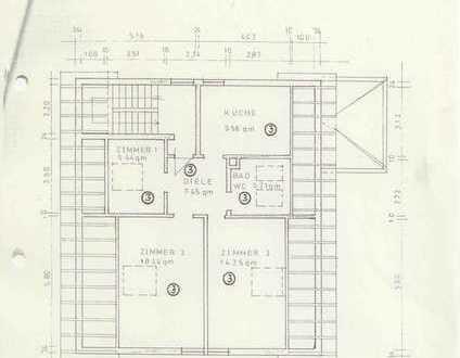 Ansprechende 2,5-Zimmer +Küche+Bad-DG-Wohnung zum Kauf in Leimen/St-Ilgen