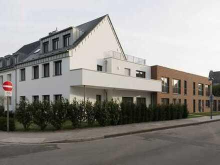 Lörick: 2 Raum SINGLE Wohnung mit Dachterrasse - Erstbezug