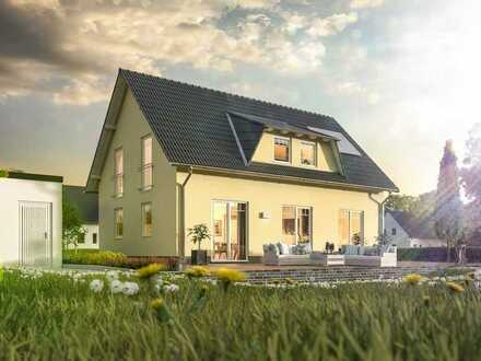 bezahlbares Massivhaus auf günstigem Grundstück