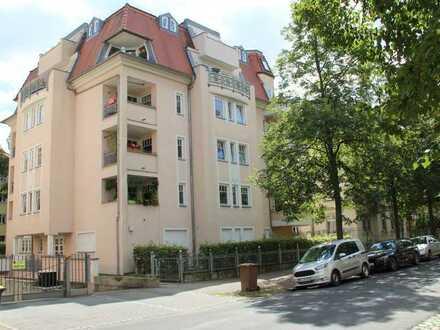 vermietete 2-Zi.Whg. mit Balkon,Aufzug,TG-SP,Bad mit BW+Fenster,Gäste-Bad mit DU,sep. KÜ+EBK,01277DD