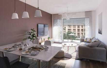 Exklusive, familienfreundliche 3-Zimmerwohnung mit Balkon