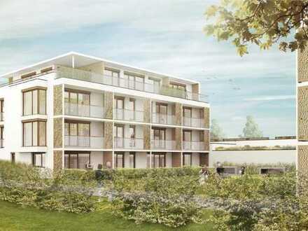 Neue 2-Raum-Wohnung EG mit Garten in Dorfen, Bahn und Autobahnanschluß