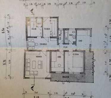 4-Zimmerwohnung mit Balkon, Essdiele und Garage ab 01.04. oder 01.05.2019