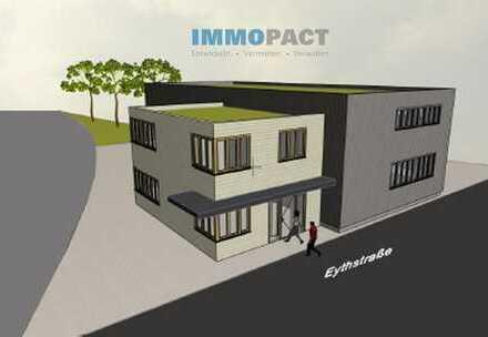 Neubau mit Bezugsfertigkeit 2021- Halle / Werkstatt und Bürogebäude für Mittelständler