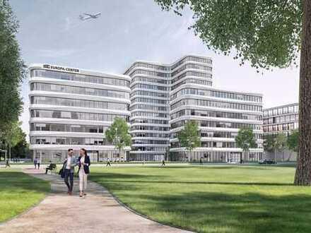 Büroneubau Frankfurt: große Mietflächen in Flughafennähe - Ausbau nach Ihren Wünschen