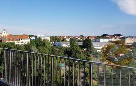 ~Genießen Sie den herrlichen Weitblick von Ihrem ca. 12 m² Südbalkon!~