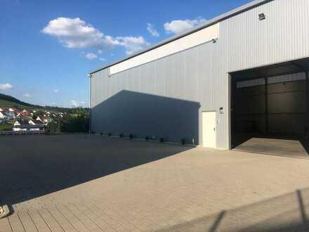Neuwertige isolierte Lagerhalle mit gehobener Ausstattung zu vermieten