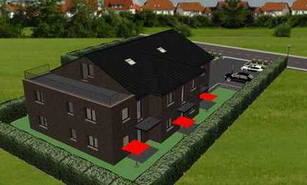 exklusive Wohnung im Mehrfamilienhaus, Wohnhaus mit 7 Einheiten im Zentrum von Warsingsfehn, Rend...