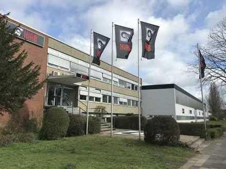 Gepflegte Produktions-/Lager-/Gewerbe- Halle zentral im Industriegebiet an d. A2 in Langenhagen