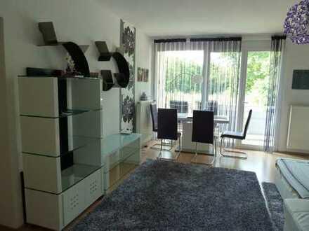 Stilvolle, 3-Zimmer-Wohnung mit Balkon und Einbauküche in Wiesbaden