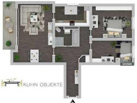 Modernisierte Eigentumswohnung mit Balkon und Aufzug