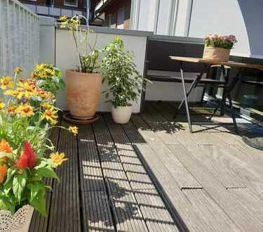 Exklusive, neuwertige 4-Zimmer-Wohnung mit Balkon und EBK in Münster