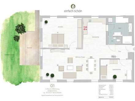 Wellness und Wohnen - EG-Wohnung 3-Zimmer mit Garten (1)