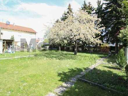 Viel Fläche für Ihren neuen Wohntraum! Großzügiges Grundstück mit Altbestand nahe Innenstadt