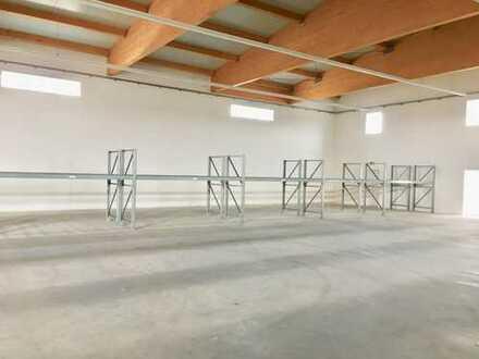 Lagerhalle 396 m² zentrumsnah in Mering zu vermieten, ab 100m², 6 m hoch