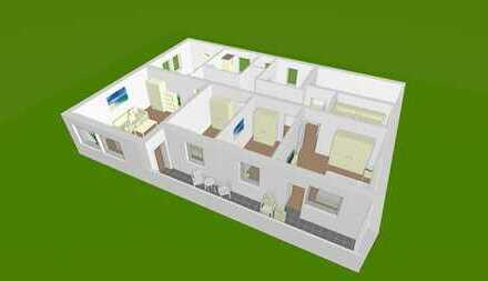 Schöne 6-Zimmer-Wohnung+Küche+Bad+WC für die ganze Familie in Windischbergerdorf (Kreis Cham)