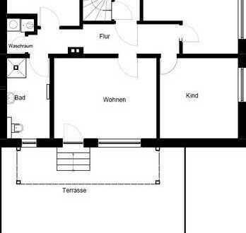 Erstbezug nach Sanierung: schöne 3-Zimmer-EG-Wohnung mit Terrasse und Garten in Gronau (Westfalen)