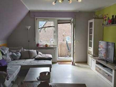 Schöne 3-Zimmer-DG-Wohnung mit Balkon in Werne Innenstadt
