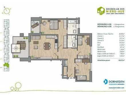 Schöne 4-Zimmer-Wohlfühloase mit 2 Bädern und 2 Balkonen