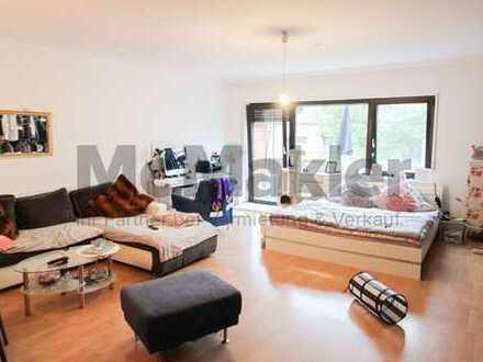 Kapitalanlage im Herzen Wiesbaden-Biebrichs: Vermietete 1-Zi.-ETW mit großem Balkon
