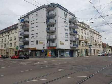 Eckladen Karlstr. / Ebertstr. 16a mit großer Schaufensterfront Nähe Bahnhof zu vermieten