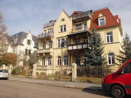 teilmöbl. 2-Raum-Wohnung mit EBK in Dresden,auch Gewerbe