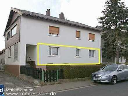 www.ImmoHessen.de.. Günstige 2-3 Zimmerwohnung, Hochparterre, Bermuthshain.
