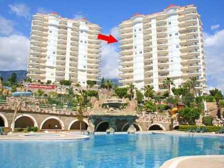 Schickes Apartment in Mahmutlar mit fantastischen Einrichtungen vor Ort!