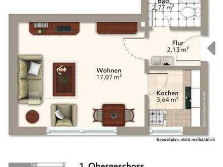 Schöne 1-Zimmer-ETW in DA-Eberstadt