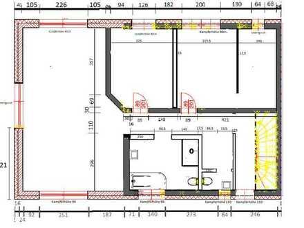Erstbezug: exklusive 3-Zimmer-Wohnung mit Balkon in Mainaschaff