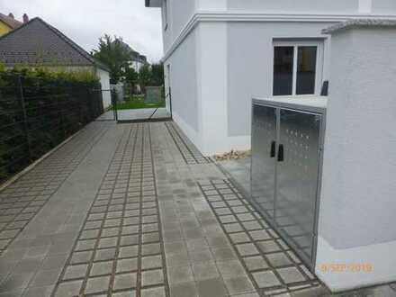 3 neu gebaute Reihenhäuser im Regensburger Westen zu vermieten