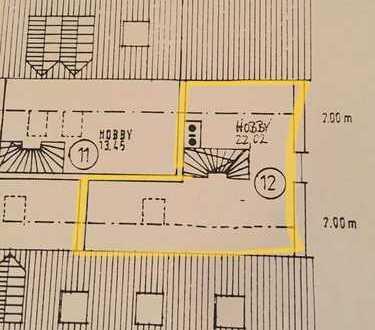 Gepflegte 2-Zimmer-Maisonette-Wohnung mit EBK in Gottmannshofen